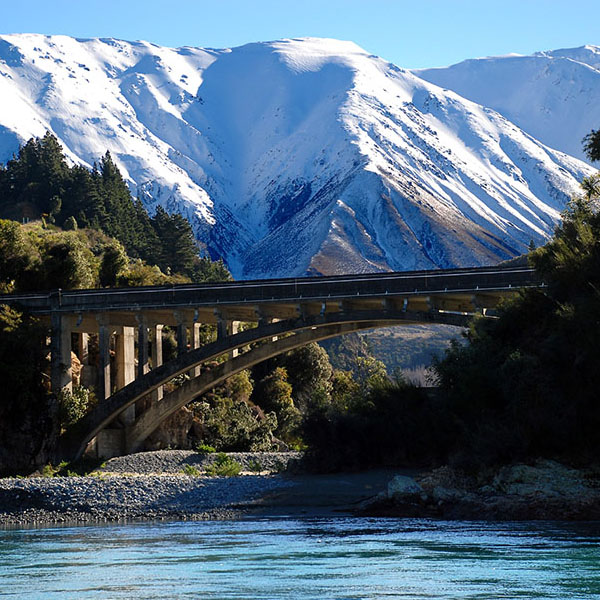 Rakaia Gorge Bridge Analysis