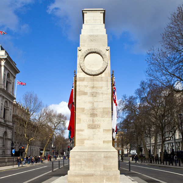 Sheltercoat for the Cenotaph