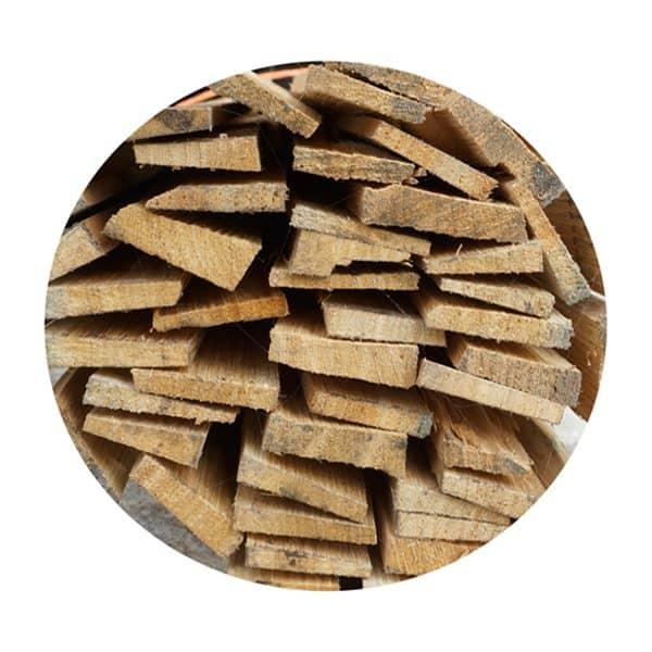 Plastering hardwood laths