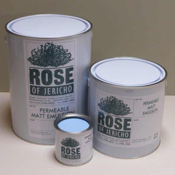 permeable matt emulsion paint