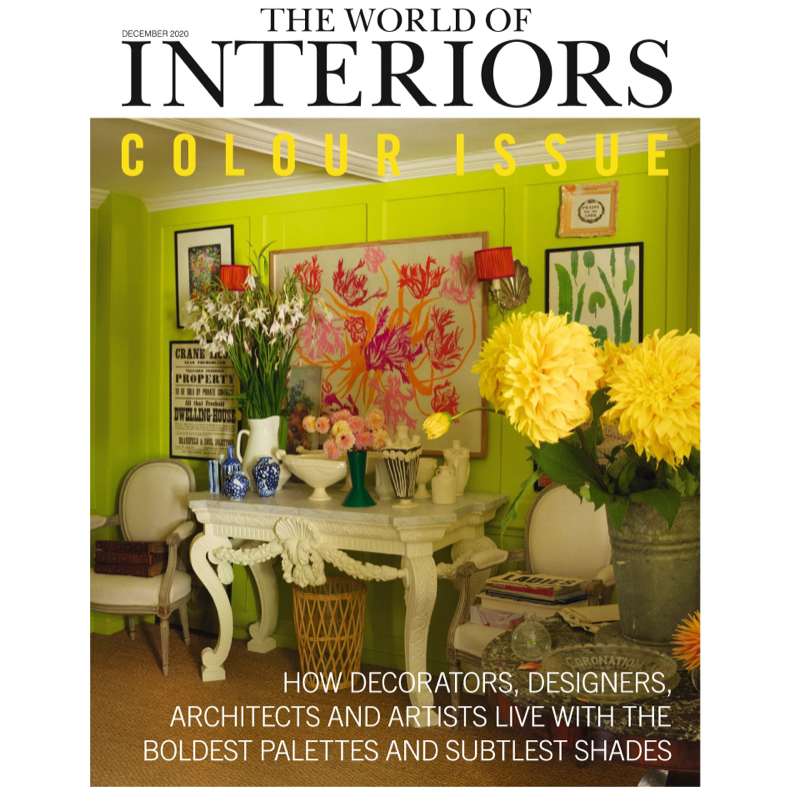 Venetian Red featured in World of Interiors