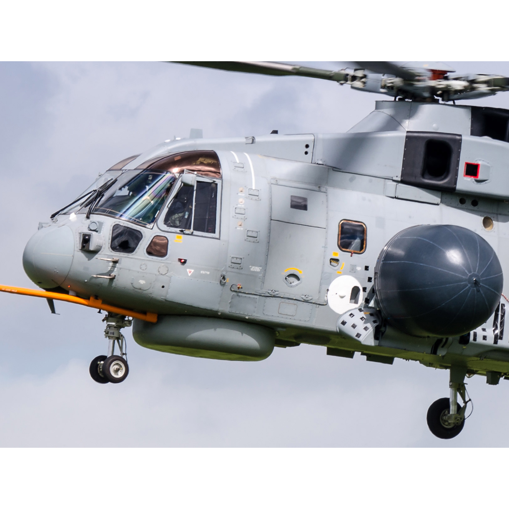 Casein Distemper used on Royal Navy Helicopters