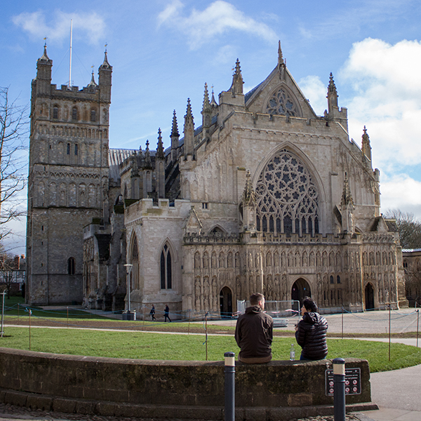 Analysis work at Exeter Cathedral
